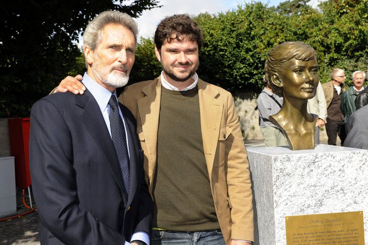 Audrey Hepburn's son Luca Dotti and Audrey's companion ...