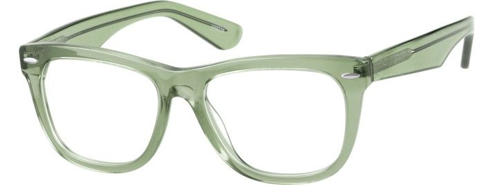 Order online, women green full rim acetate/plastic square eyeglass frames model #449224. Visit Zenni Optical today to browse our collection of glasses and sunglasses.