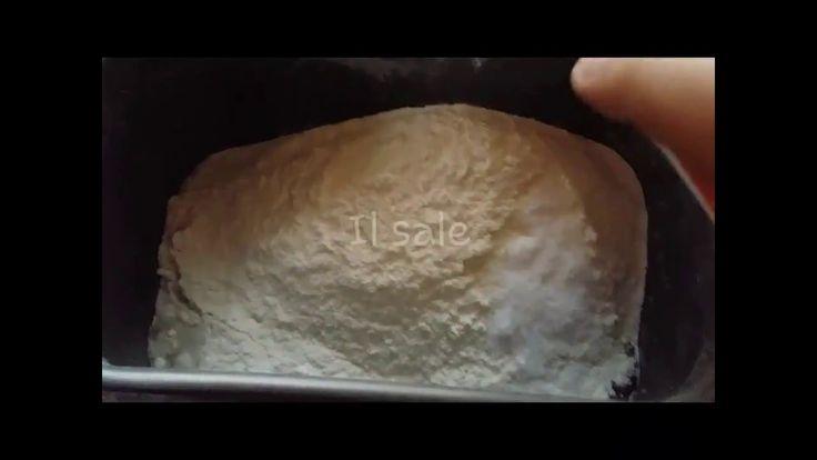 Focaccia morbida con macchina del pane