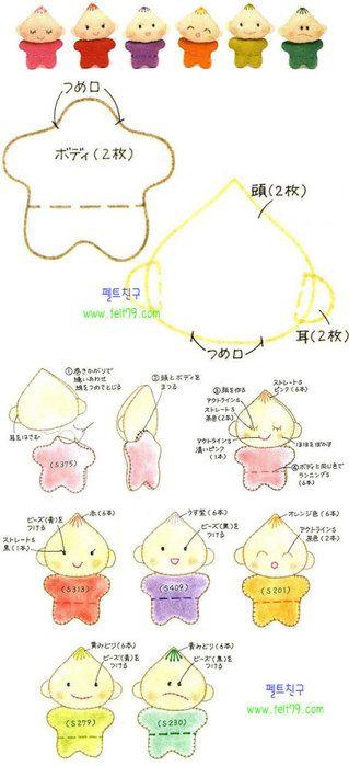 Mimin Dolls: bebezinhos corpo estrela