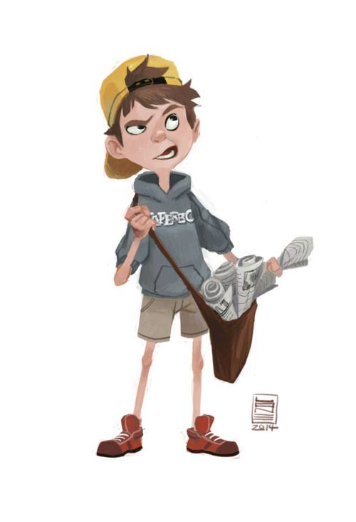 Happy to give Paperboy some love for @sketch_dailies!
