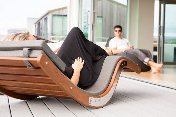 I want this! Rock Out Outside with the Kwila Sun Lounger in main home furnishings  Category