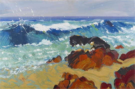 Big Wave, St.Agnes - Fiona McIntyre