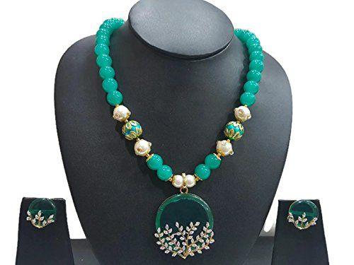 Green Pearls Indian Bollywood Gold Plated Traditional Ame... https://www.amazon.com/dp/B06VW37H8M/ref=cm_sw_r_pi_dp_x_n8vPyb2SRTB40
