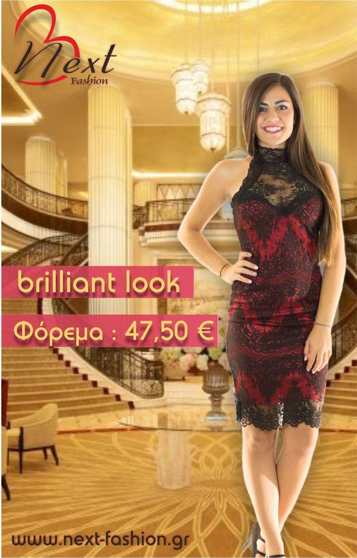 #Γυναικεία #Μόδα #Φορέματα #Δαντέλα #Μαύρο #Κόκκινο #Women's #Fashion #Dresses #Lace #Red #Black  Το Φόρεμα μπορείτε να το βρείτε ΕΔΩ: http://next-fashion.gr/-foremata-/610--forema-dantela-partous-omous-diafani-plati-.html