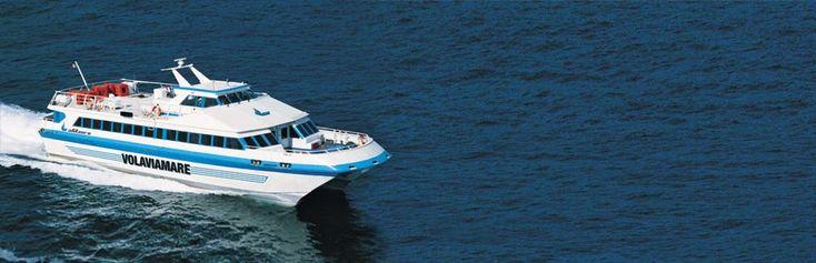 Hydrofoil schedule for Napoli to Sorrento