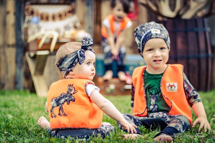 Dossard de chasse pour enfant de la boutique Axelledesign sur Etsy