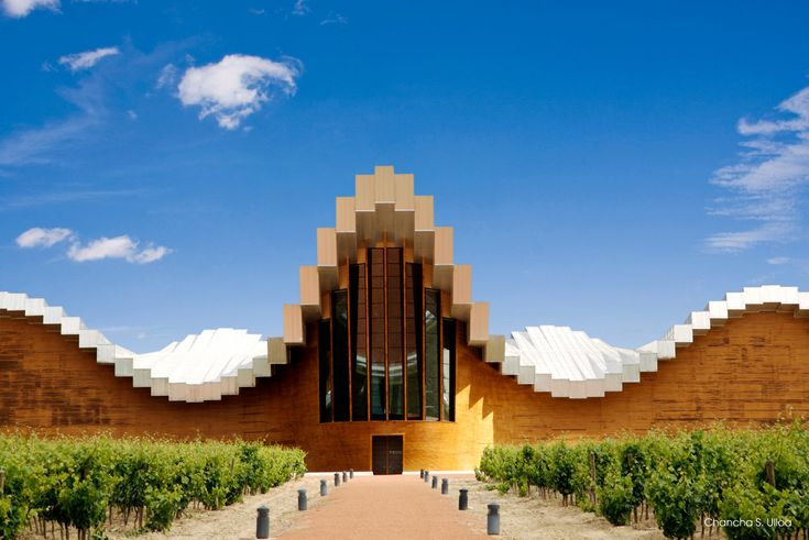 #Architecture & wine combine perfectly at #RiojaAlavesa. #winetours #visitspain #spanishwine bit.ly/1fXJxRs