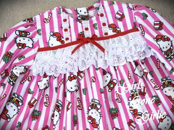 Toddler Christmas pajamas  kids christmas by GirlsGoneGirlie