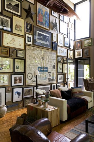 Statement Gallery Wall //