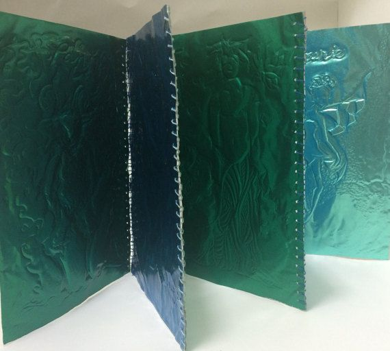 Fairytale Creature Art - Artist Book - Metal Book and Clamshell Box - Mythical Creatures