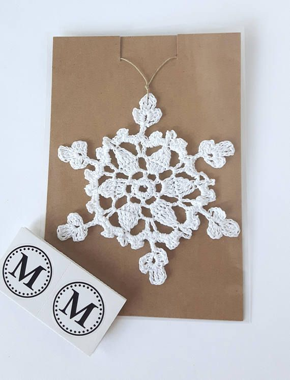Check out this item in my Etsy shop https://www.etsy.com/ca/listing/514972842/crochet-snowflake-in-white-christmas