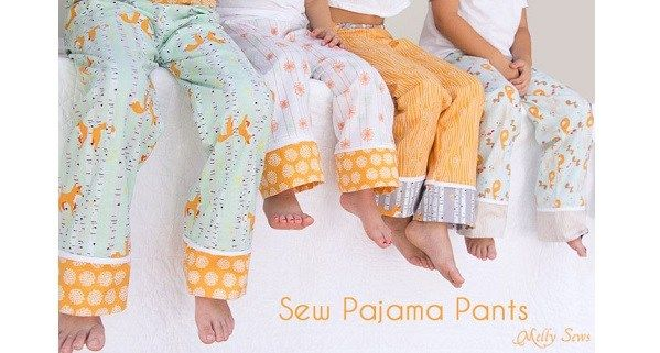 How To Hem Pants With A Cuff Tutorial Cuff Hem Pajama Pants Sewing Sewing Clothes Baby Sewing