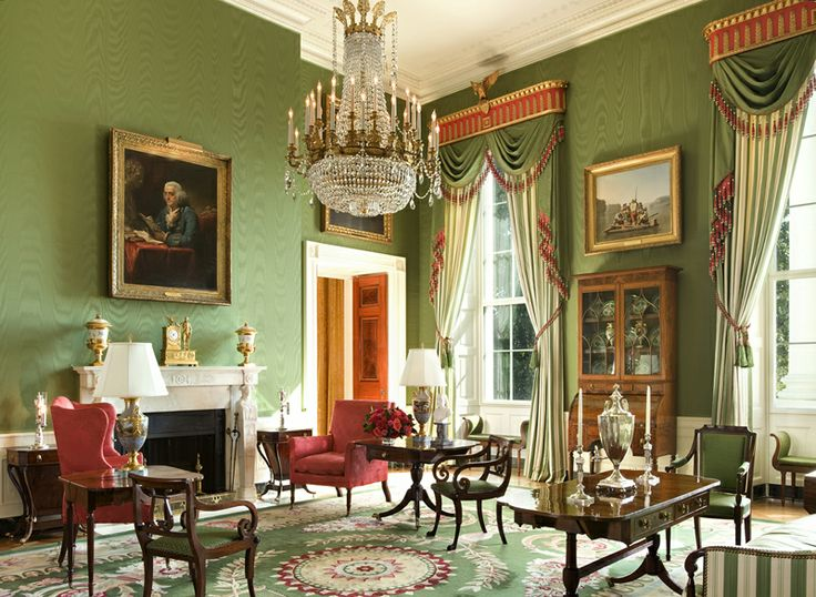 High Quality Interior Design By Ken Blasingame (Courtesy Of The White House Historical  Association) Part 17