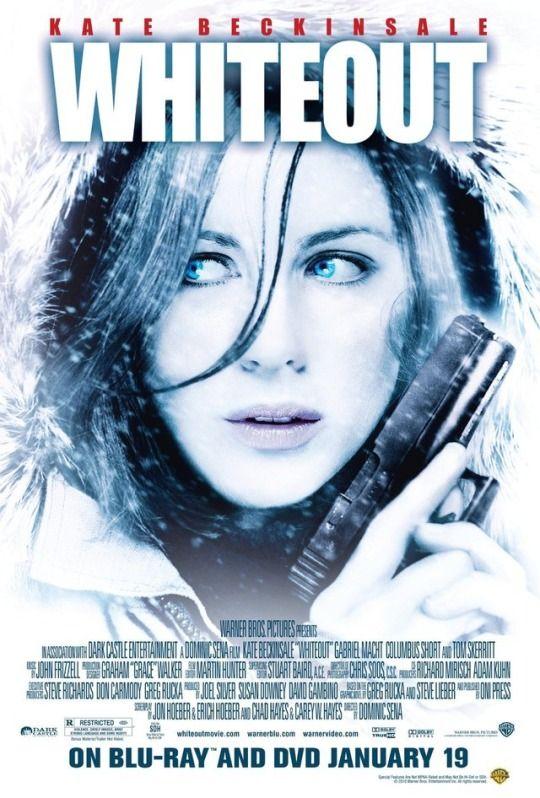Whiteout (2009)  Dir. Dominic Sena  Kate Beckinsale, Gabriel Macht, Tom Skerritt