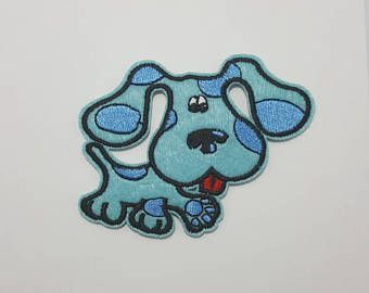 Blue's Clues Nickelodeon retro iron on patch