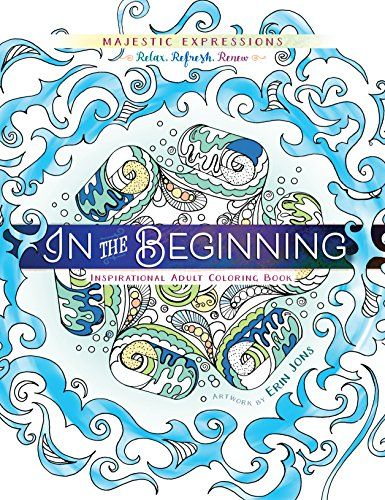 In The Beginning Coloring Creation Majestic Expressions Bible PagesColoring
