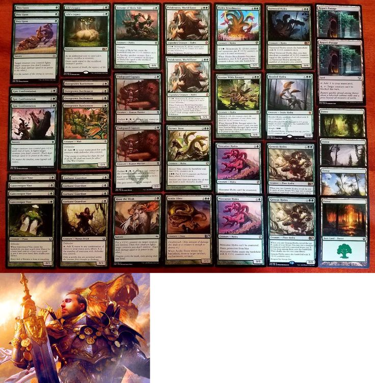 MTG Player-Built Decks 49196: Hydras! * Green Modern Legal Custom Magic Mtg Deck * Wizards Of The Coast -> BUY IT NOW ONLY: $49.99 on eBay!