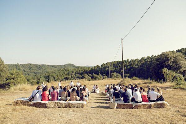 Modern Catalan countryside DIY wedding
