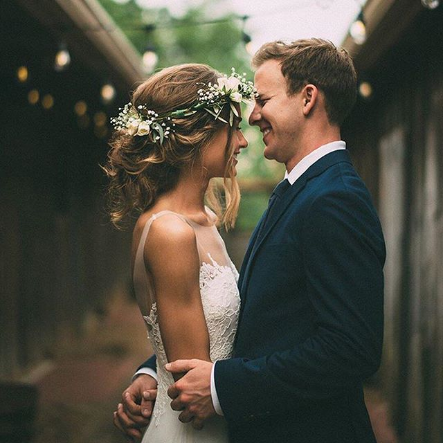 Flower crown AND first look goals  | : @imageisfound