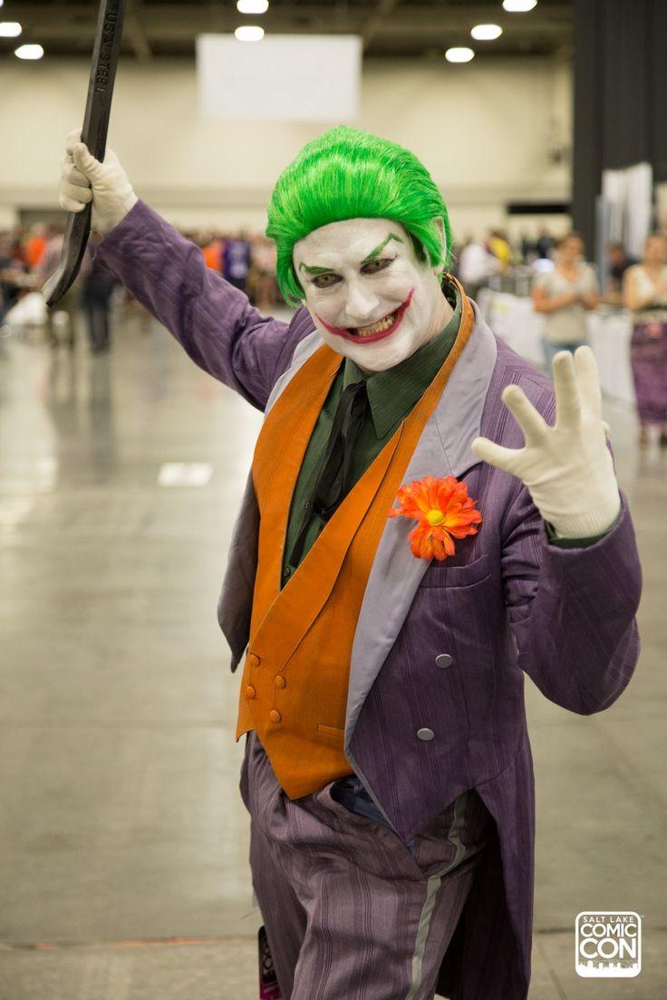 Joker costume / cosplay from Salt Lake Comic Con 2016 ...