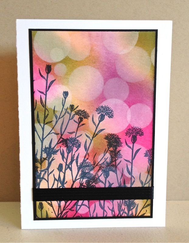 distINKtive STAMPING designs: Wild About Flowers & Bokeh
