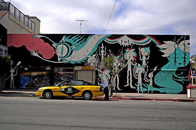 Fio Zenjim 2010 Mural. Calle 7ma Tijuana Down Town.