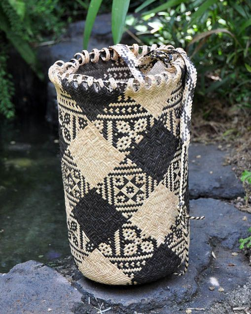 bamboo basket from West Kalimantan. Available from theartisanstablestore.com
