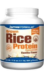 Jarrow Brown Rice Protein (Vanilla Flavor). No FODMAP ingredients! (also gluten-free, soy free, dairy-free)