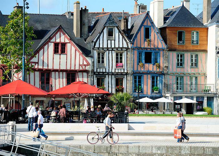Maisons à pan de bois à Vannes © Y. Legal