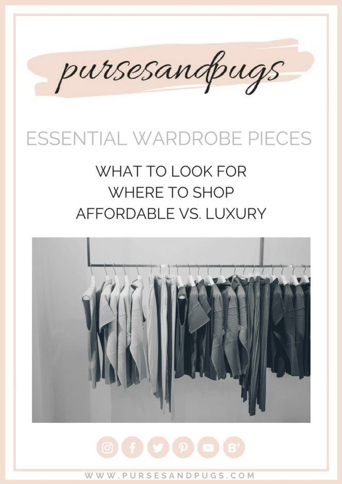 Essential wardrobe pieces, free ebook