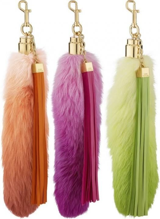 Louis Vuitton Foxy Tail Handbag Charms | Handbag Blog