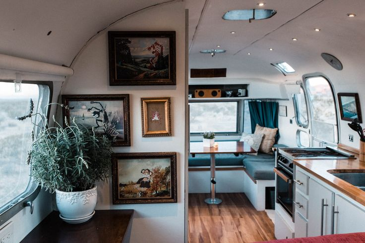 Husband And Wife Photographers Living And Traveling Full Time In Their DIY  Renovated Airstream Overlander