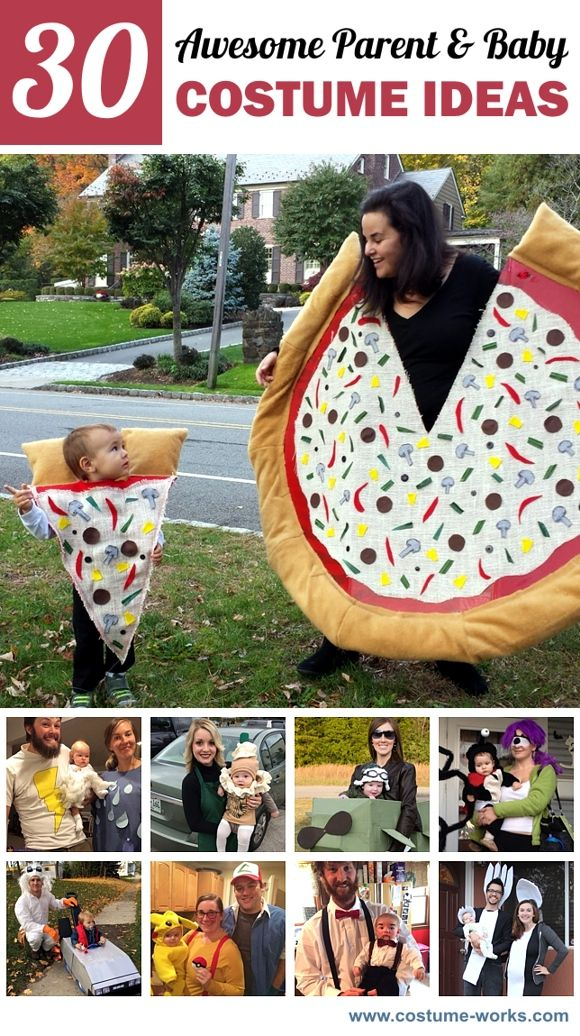 Creative DIY Parent & Baby Costume Ideas