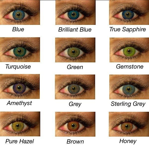 Freshlook Contact lenses, Love the turquoise ones!