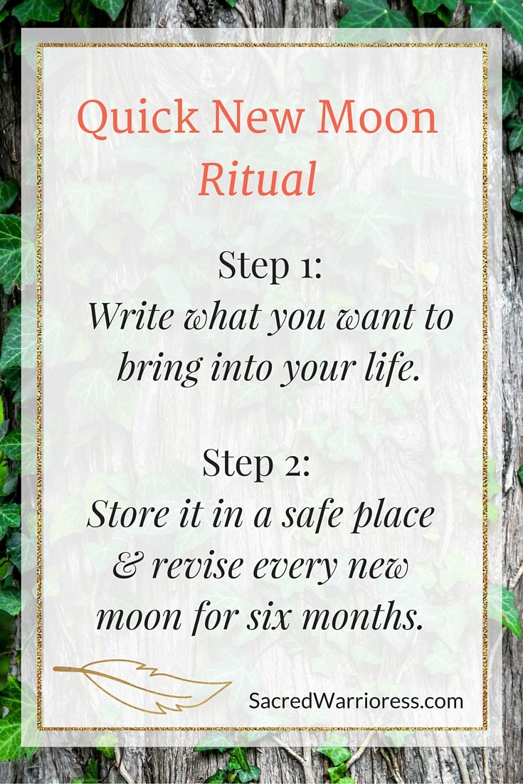 17 Best ideas about New Moon Rituals on Pinterest | New ...