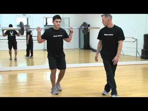 Ausfallschritte - Fitnessübung mit Video