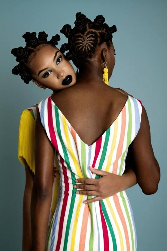The New African Aesthetic by Angolan Designer Rose Palhares | Natural Hairstyles