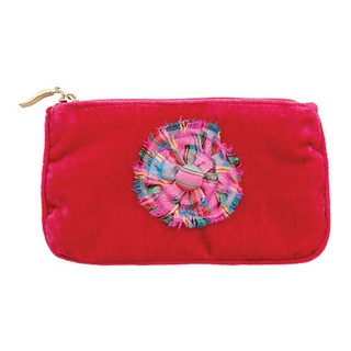 This gorgeous purse is much bigger than a coin purse so you can fit your mobile, make-up and money in it.