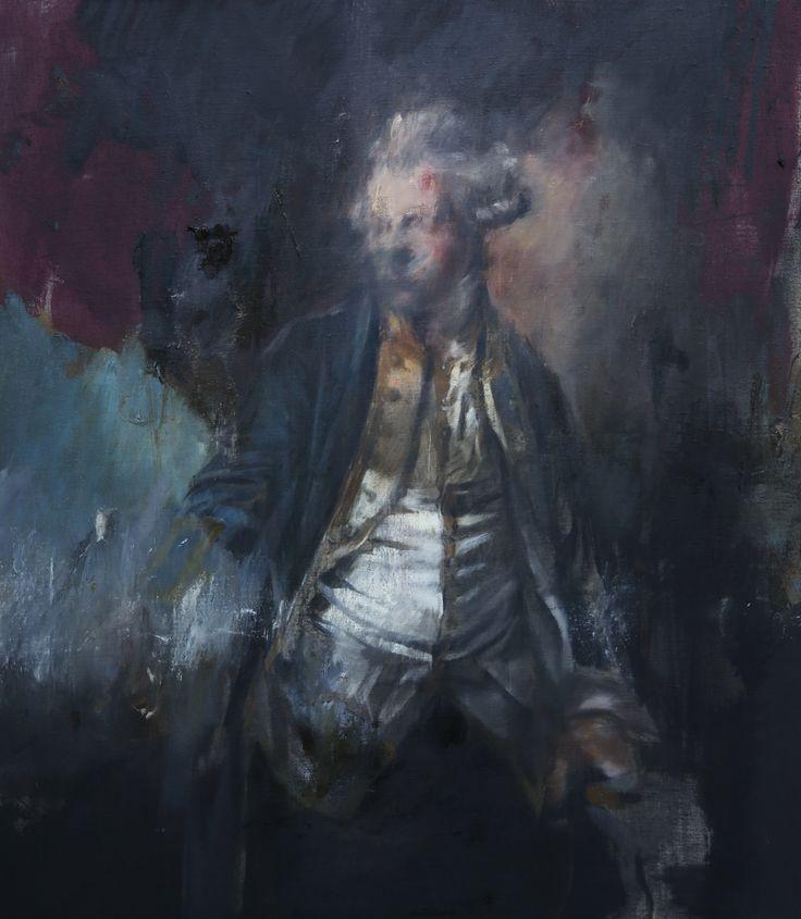 Jake Wood-Evans Portrait of John Jervis, Earl of St Vincent, after Francis Cotes, 2016 Oil on canvas. 104 x 120 cm