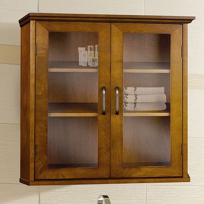 """Elegant Home Fashions Avery 20.5"""" x 24"""" Wall Mounted Cabinet"""