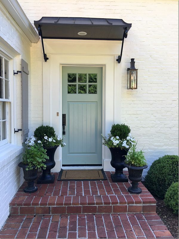 Best 25+ Front door awning ideas on Pinterest | Door ...