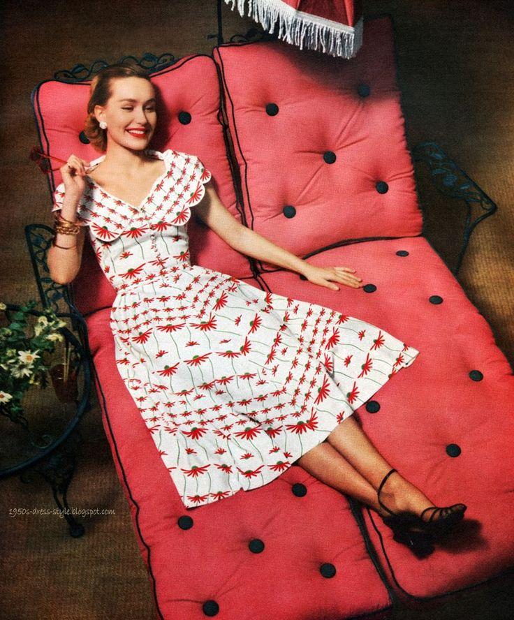 Natalie Renke   1950s Dress Style