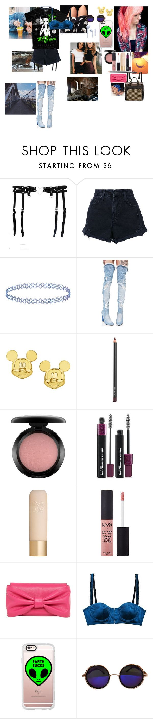 """""""Mike WiLL Made-It"""" by gabylina ❤ liked on Polyvore featuring Gucci, Nobody Denim, Topshop, Cape Robbin, Disney, MAC Cosmetics, Carmella, Eve Lom, NYX and RED Valentino"""