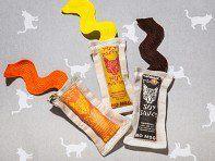 3 Piece Asian Sauce Packet Cat Toy Set