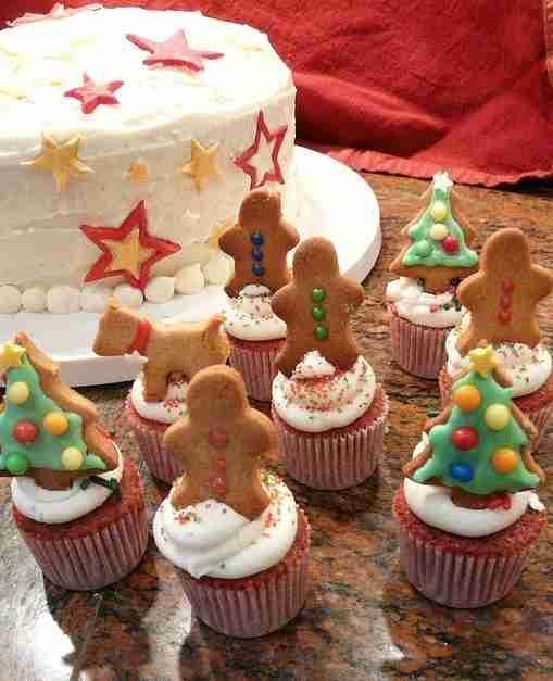 christmas cupcakes - Google Search