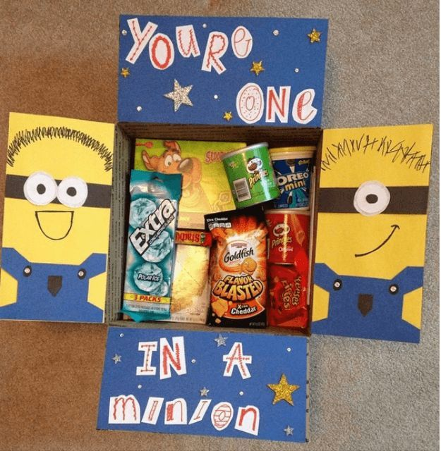 The Despicably Caring Package   College Care Package Ideas