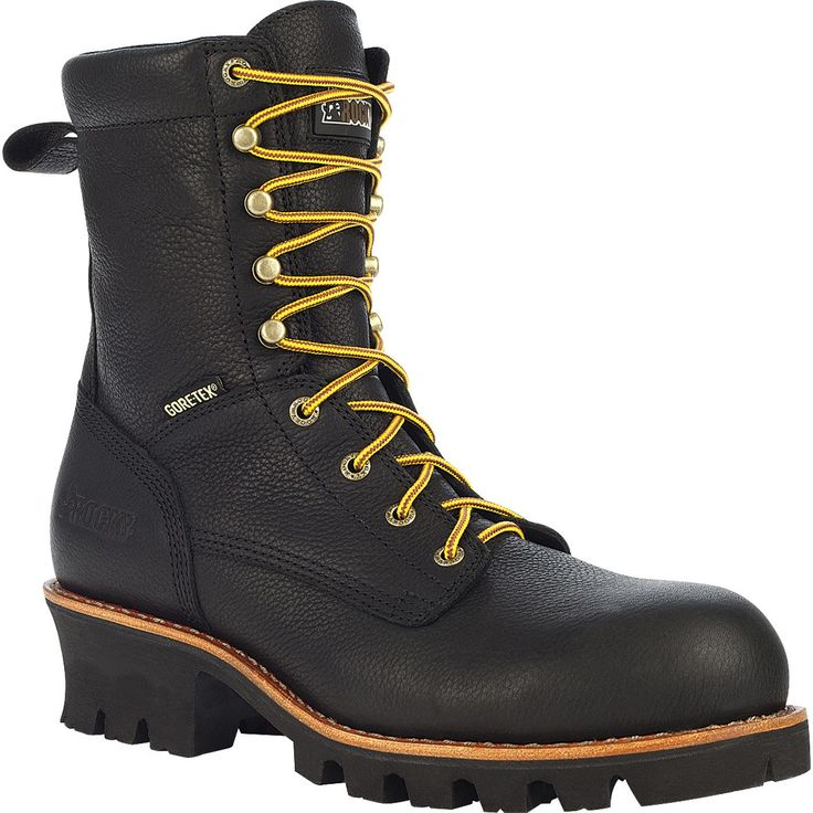 Rocky Great Oak Gore Tex 174 Men S Black Logger Work Boots