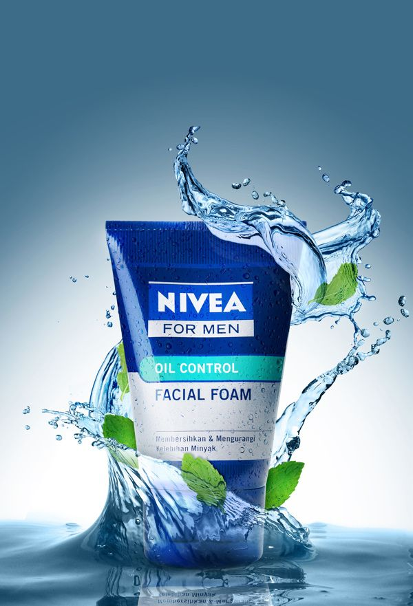 Nivea For Men by Fairnan Suharnoto, via Behance