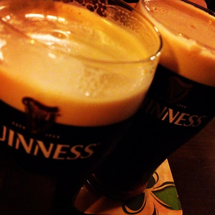 Irish Fest always serves Guinness on tap. Irish Fest is July 12, 13 and 14. 2013.